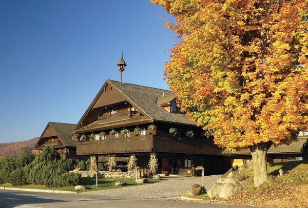 Vermont Fall Splendor Featuring the Trapp Family Lodge