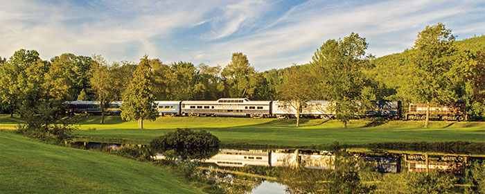 Scenic Trains and Cruises of New England