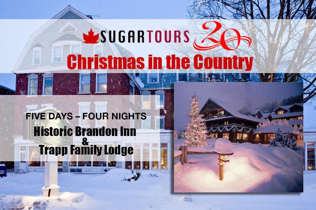 Christmas In Vermont.A Vermont Country Christmas Sugar Tours