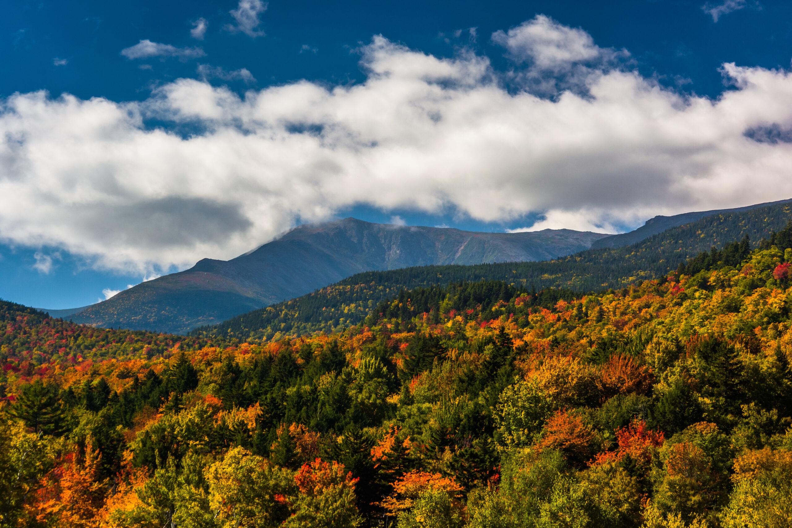 New England Fall Foliage Mountains to Coast